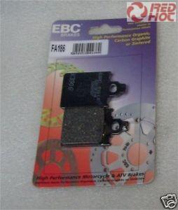 EBC SFA 186 Scooter kevlár fékbetét