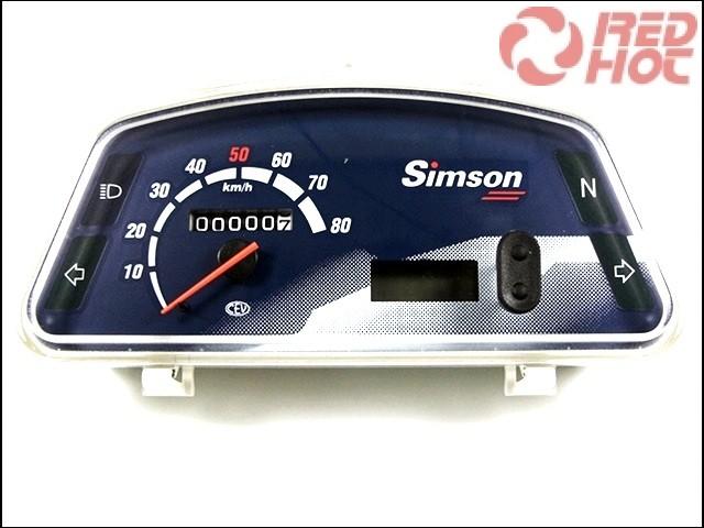 SIMSON ROLLER KILOMÉTER ÓRA SR50/80  XG,XC,XGE,XCE