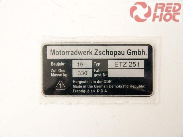 ETZ 251 TÍPUSTÁBLA /ETZ251/