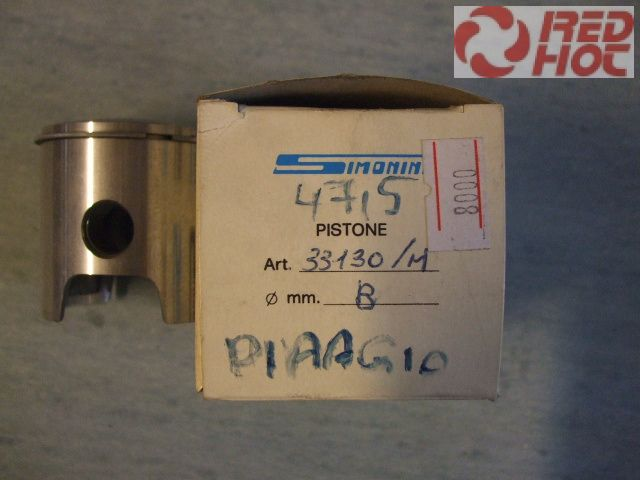Simonini Racing tuning dugattyú szett (Vertex)  Piaggio  47,5