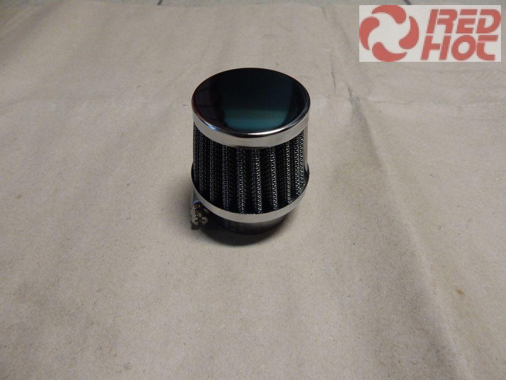 Sportlégszűrő fém 38 mm vízvédett borítással