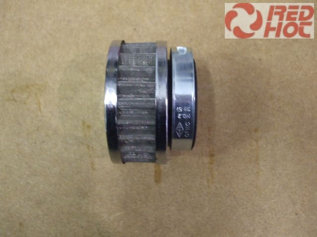 Sportlégszűrő fém 42 mm univerzális