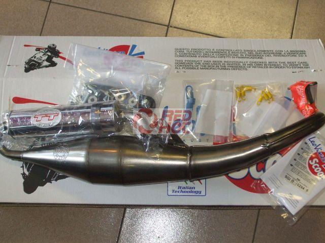 Leo Vince TT sport kipufogó Aprilia SR robogóhoz Typ2