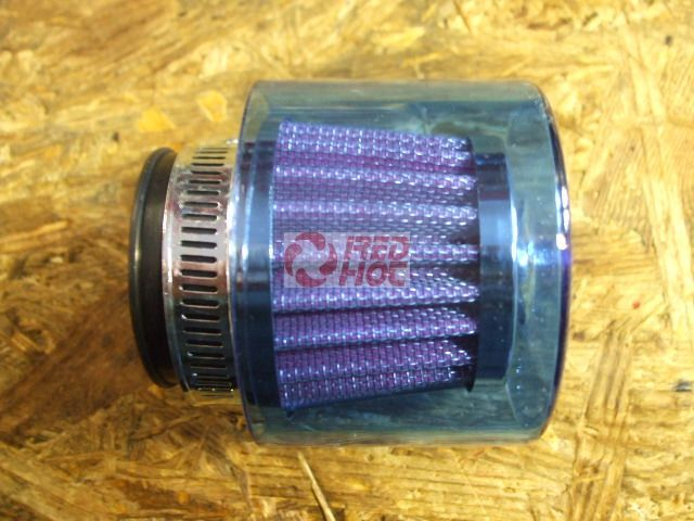 Sportlégszűrő fém 35 mm vízvédett borítással