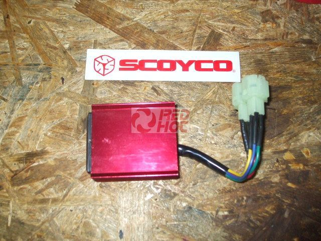 Tuning CDI ovális csatlakozóval TP3 2011